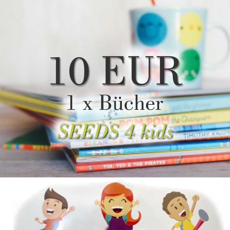 Spendenpaket: 1 x 10 EUR für Bücher