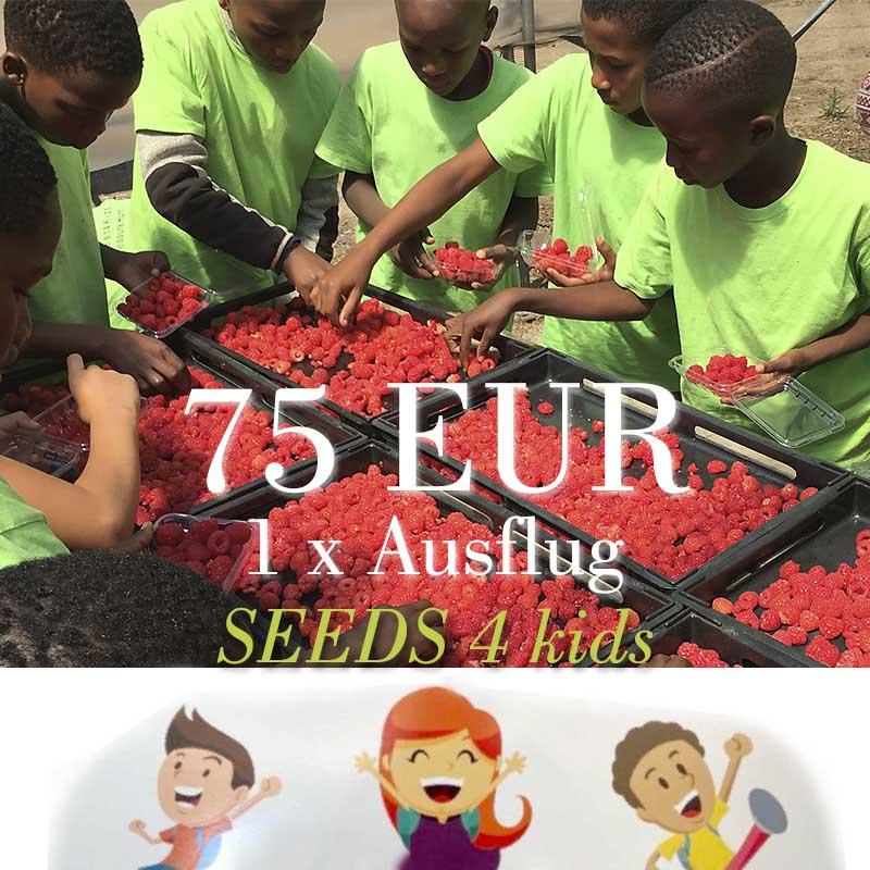 Spendenpaket: 1x 75 EUR für Ausflug